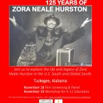 Zora Neale Hurston Workshop Flyer jpg