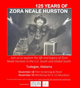 Zora Neale Hurston Workshop Flyer jpg