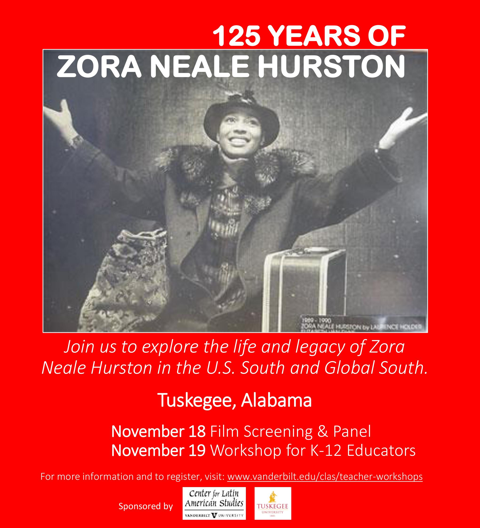 years of zora neale hurston center for latin american 125 years of zora neale hurston