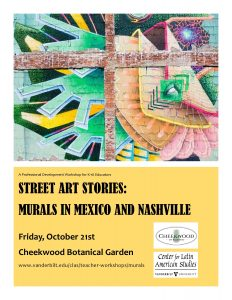Mural Workshop Flyer