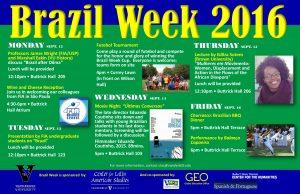 Brazil Week Poster 2016