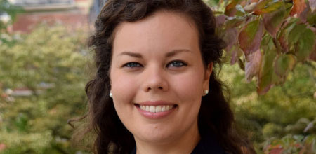 Assistant Professor Michelle Marcus named to 2021-22 cohort of Junior Faculty Teaching Fellows