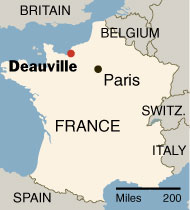 Deauville Teaching Program Announced | Department of French and