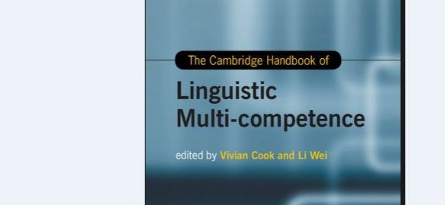 "Virginia Scott's article, ""Multi-competence and language teaching"" was published in the The Cambridge Handbook of Linguistic Multi-competence."
