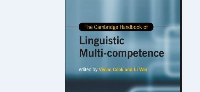 """Virginia Scott's article, """"Multi-competence and language teaching"""" was published in the The Cambridge Handbook of Linguistic Multi-competence."""