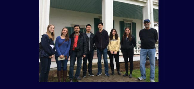 Feb. 18, members from P.A.T. and VHR visit the Carter House and Carnton Plantation. Professors Welch and Blackett also went.