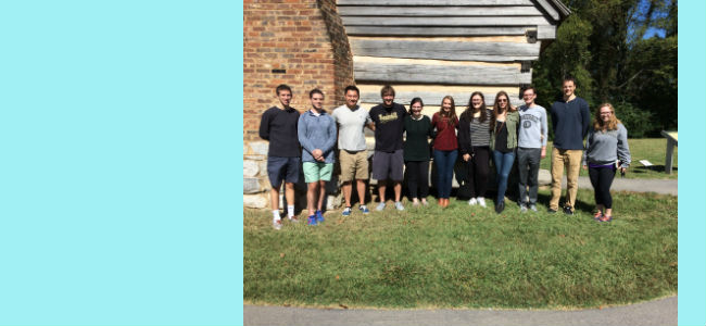 Phi Alpha Theta members enjoy a trip to The Hermitage on October 9, 2016
