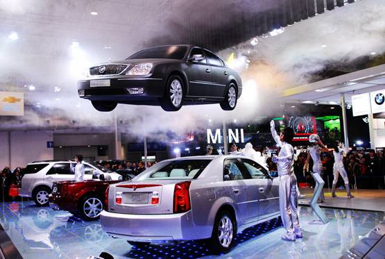 Yuanfei Wang On Rolfe And Beijing Car Exhibition - Car exhibition