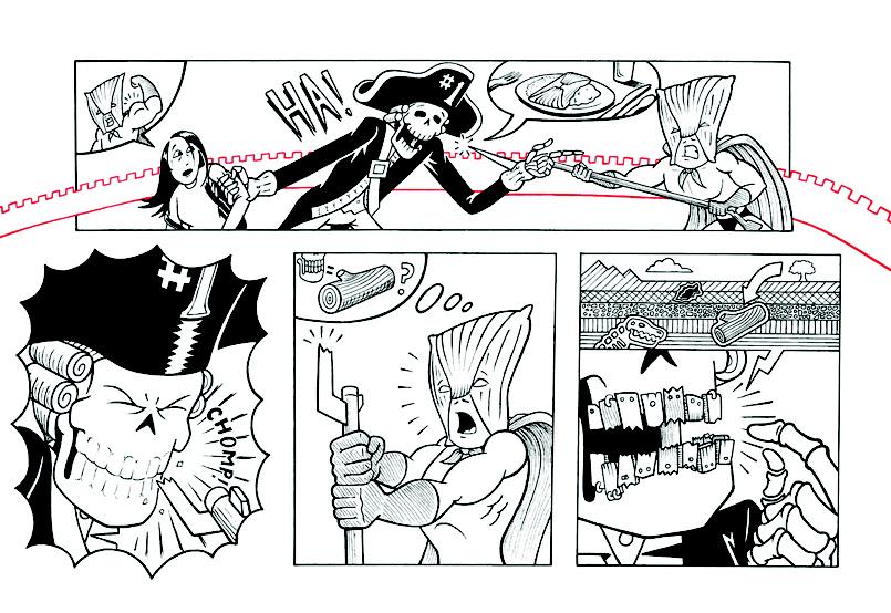 Tamale Man #2 - Panel 8