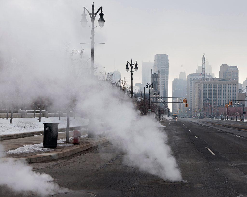 Untitled - Cityscape, Detroit, MI