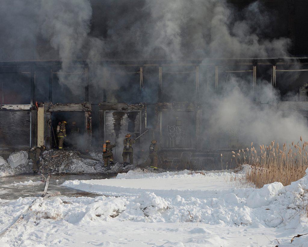 Untitled - Fire Scene, Detroit, MI
