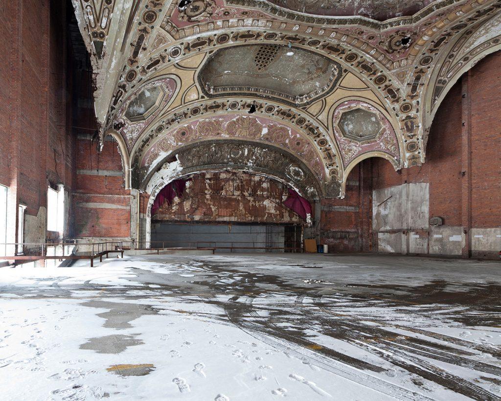 Untitled - Parking Structure, Detroit, MI