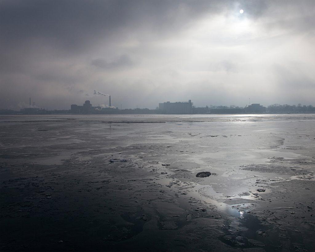 Untitled - Riverscape, Detroit, MI