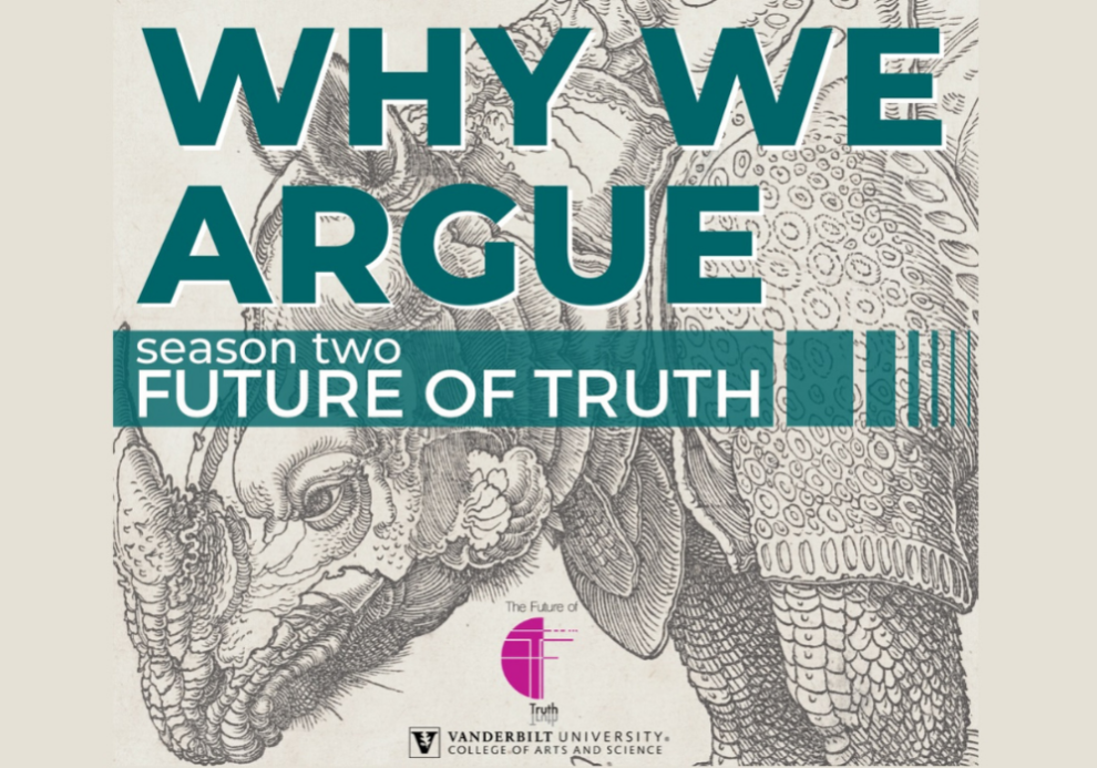 Why We Argue Podcast Logo
