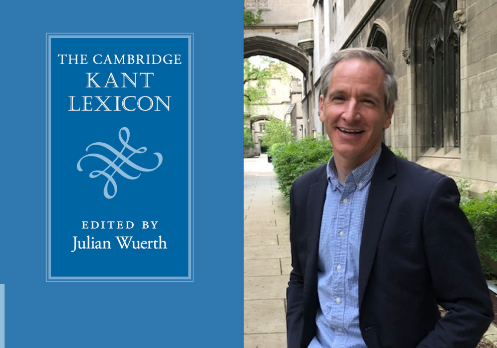 The Cambridge Kant Lexicon, edited by Julian Wuerth, was recently published by Cambridge University Press and will be released in the U.S. in May 2021.