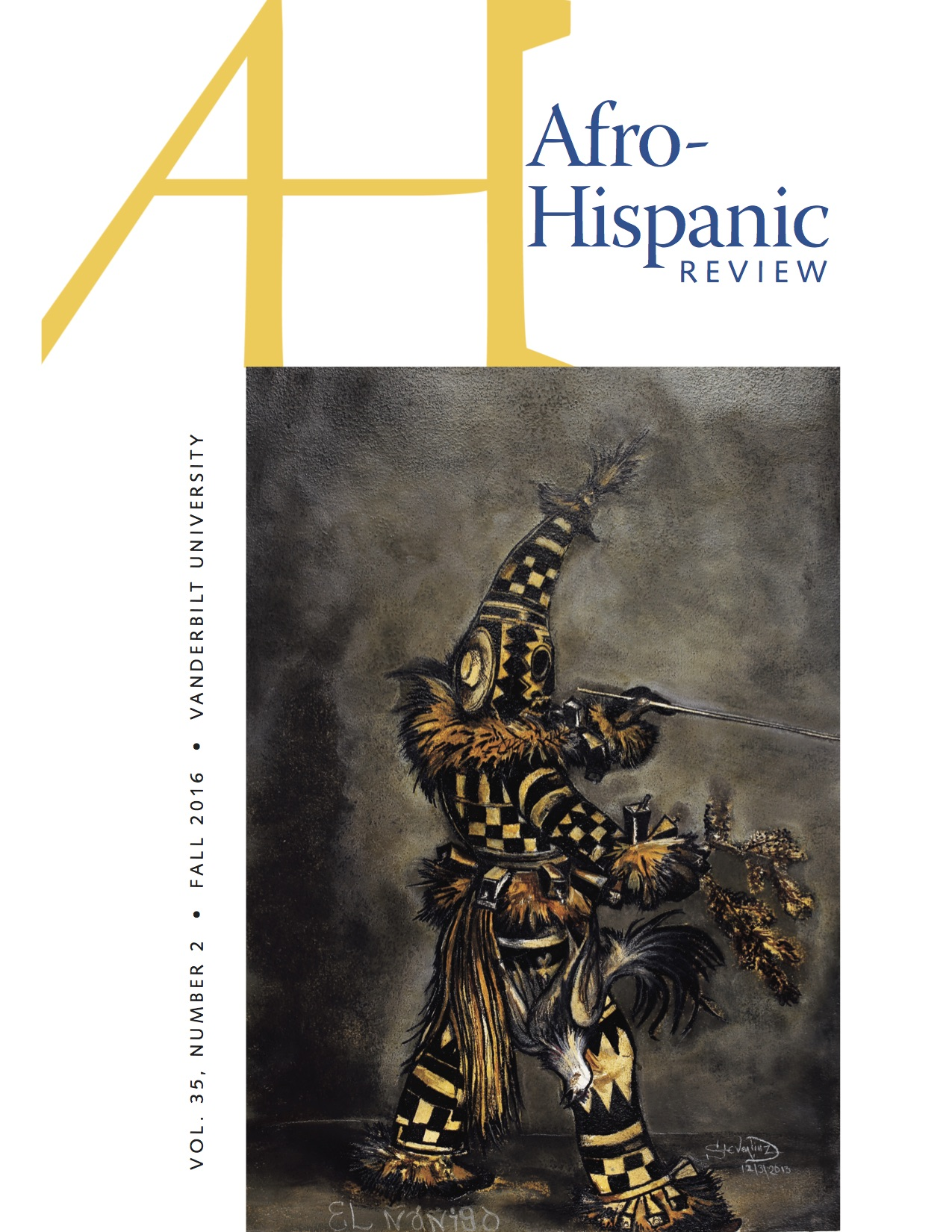 Afro-Hispanic Review Cover