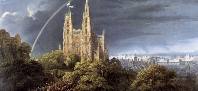 1815 Gothic Cathedral with Imperial Palace