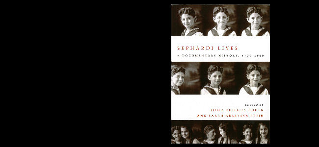 Julia Phillips Cohen, co-editor, Sephardi Lives: A Documentary History, 1700-1950 (Stanford University Press 2014)