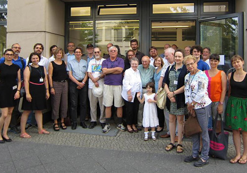 Participants at the Conference in Honor of John Lachs, hosted by the Berlin Practical Philosophy International Forum e. V.