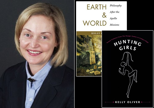 Kelly Oliver published two new books with Columbia: Earth and World and Hunting Girls.