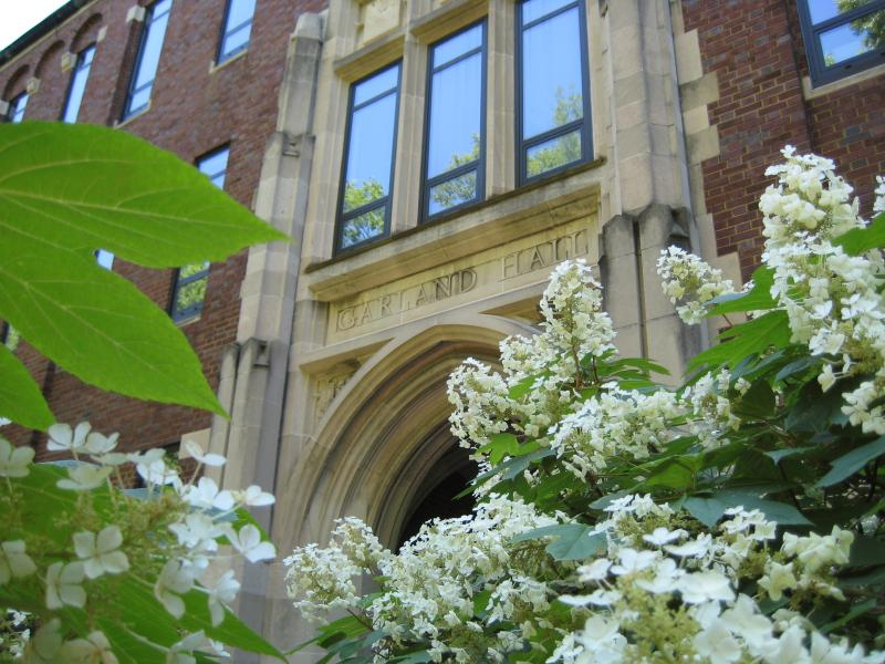 Garland Hall with Flower